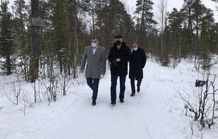 Николай Такаев сделал несколько замечаний по уборке снега в Усинске