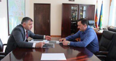 Николай Такаев встретился с и.о. министра здравоохранения Коми