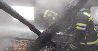 Ночью недалеко от Усинска в огне погибли двое мужчин