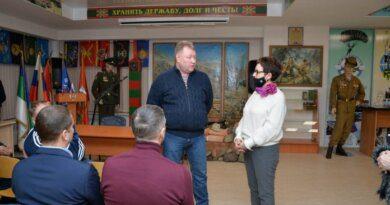 Ольга Савастьянова продолжает встречаться с представителями Усинска