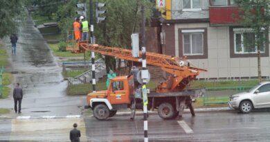 Перекресток Нефтяников и Строителей остался без светофоров