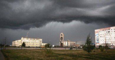 По Усинску и региону объявлено штормовое предупреждение
