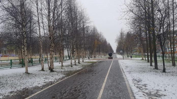 По Усинску вновь пройдётся снежная туча