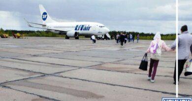 Почему в аэропорту Усинска нет специального автобуса