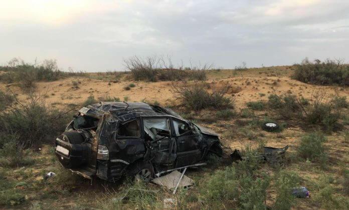 Пострадавший в Калмыкии водитель из Усинска мог уснуть за рулём