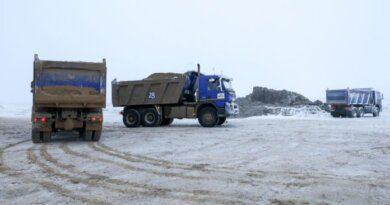 Работы по строительству трассы Нарьян-Мар – Усинск идут по графику