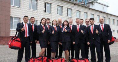 Сборная команда «Север» отправилась в Нижний Новгород