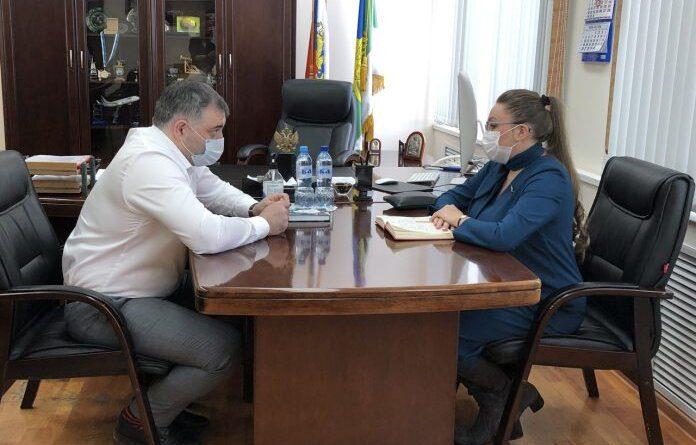 Сегодня в Усинске с визитом сенатор РФ