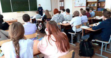 Следователи провели профилактические уроки среди школьников Усинска
