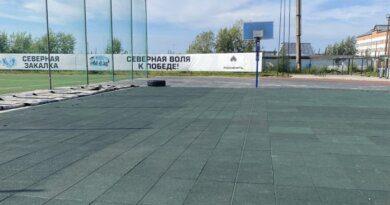Стадион Усинска преобразился