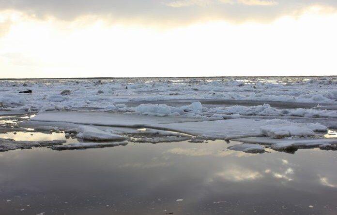 Уровень воды на реках Усинска продолжает снижаться