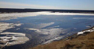 Уровень воды на реках Усинска растет