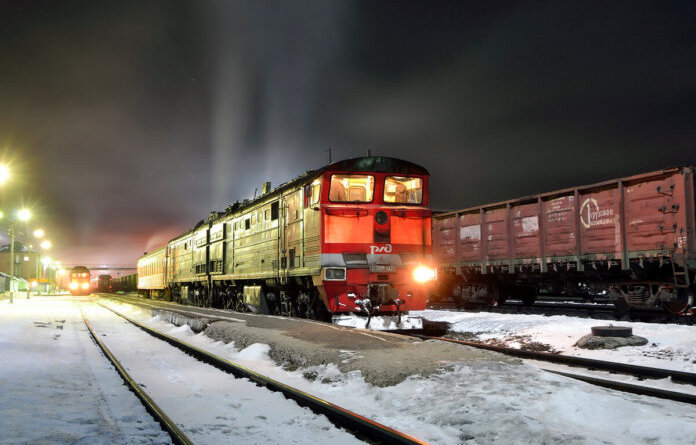 Усинск, декабрь, оттепель