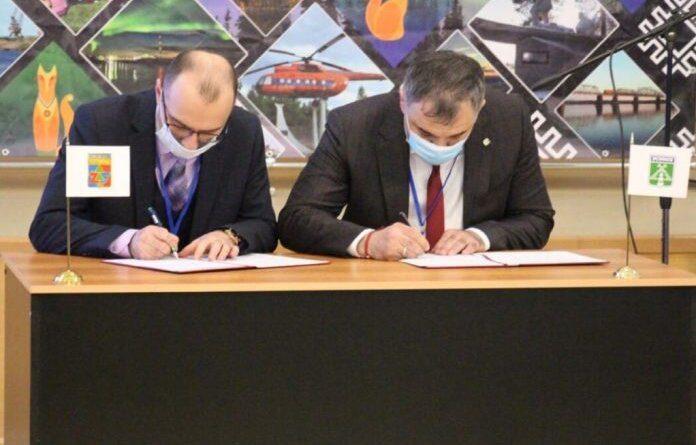 Усинск и Печора подписали соглашение о сотрудничестве