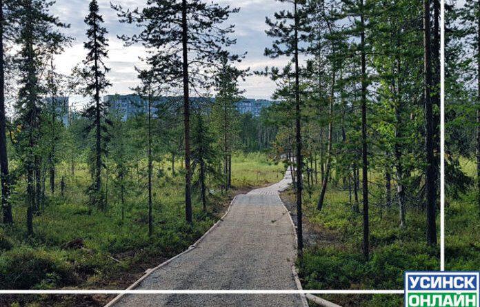 Усинск стал вторым в рамках акции «Марш парков-2021»