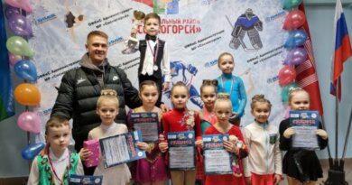 Усинские фигуристы вернулись с наградами