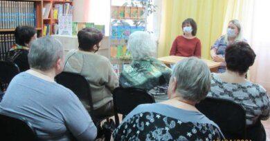 В библиотеке Усинска рассказали о предстоящей волне ковида и защите от вируса