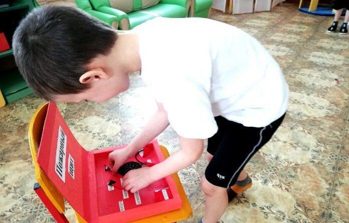 В детском саду села Щельябож прошел месячник пожарной безопасности