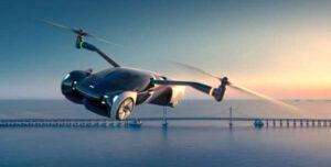 В Китае компания Xpeng анонсировала электромобиль, способный летать и ездить по дорогам