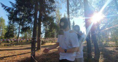 """В лесу Усинска молодёжь узнала, что такое """"Кудым-Ош"""""""