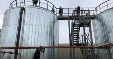 В Парме установили новые баки-аккумуляторы для воды