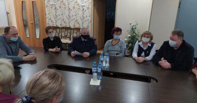В рамках акции «Нет грязному слову!» полицейские встретились с педагогами детского дома