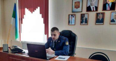 В УФСИНе Коми рассказали школьникам Усинска, как попасть на службу в ведомство