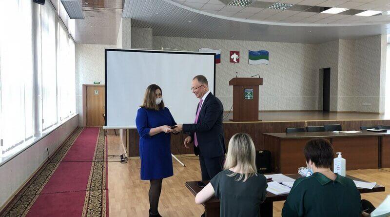 В Усинске единогласно выбрали председателя совета депутатов