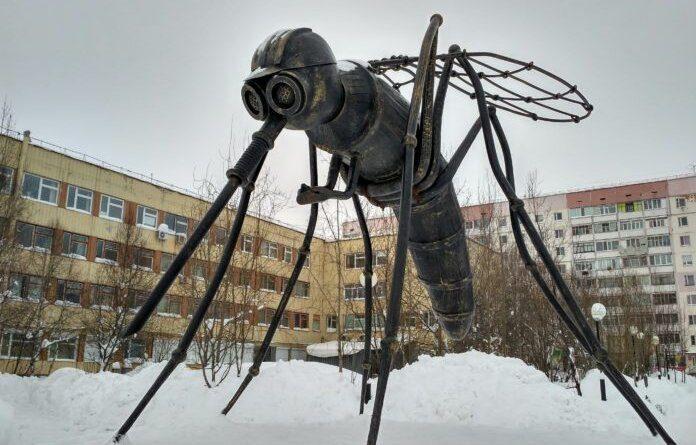 В Усинске есть памятники и комару, и сапогам, но голосовать зовут за их собратьев в других городах