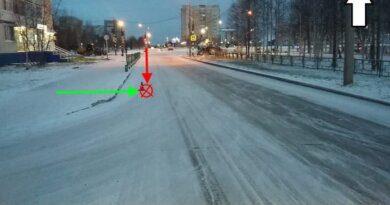 В Усинске ищут сбившего пешехода водителя