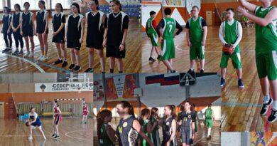 В Усинске нашли лучших баскетболистов среди школьных команд