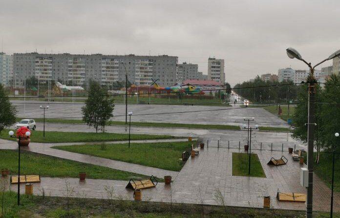 В Усинске объявлено штормовое предупреждение
