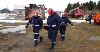 В Усинске отработали все риски весеннего половодья и предстоящего пожароопасного сезона
