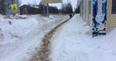 В Усинске потеплело