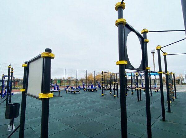 В Усинске появилась еще одна спортивная площадка