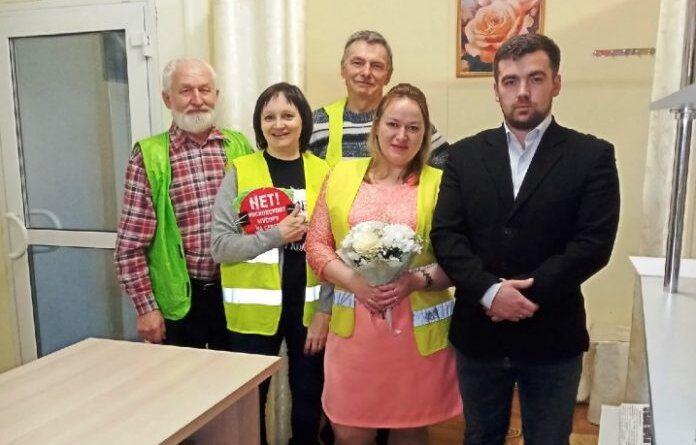 В Усинске поженилась пара активистов, которые познакомились на Шиесе