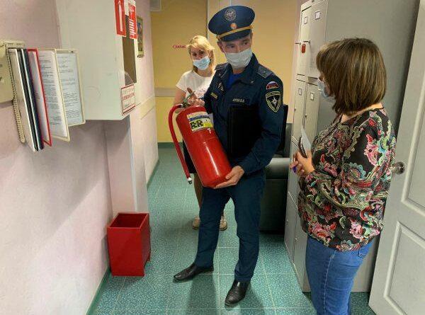 В Усинске проверили часть организаций на пожарную безопасность
