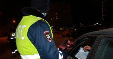В Усинске проверили водителей на предмет выявления признаков опьянения