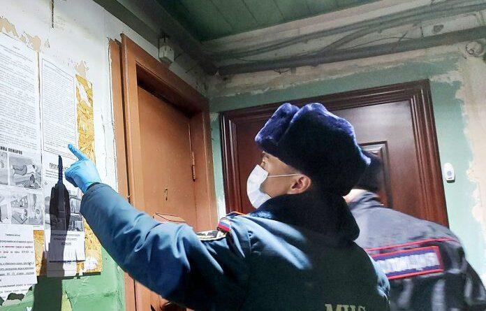В Усинске совместный рейд провели сотрудники МЧС и полиции