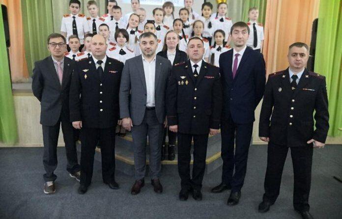 В Усинске создали полицейский кадетский класс