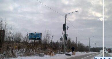 В Усинске установят пять рубежей скорости