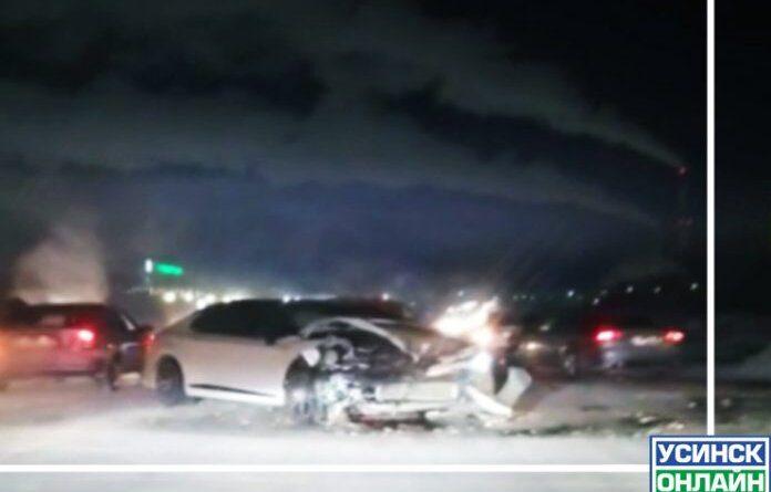 В Усинске в аварии пострадал мужчина