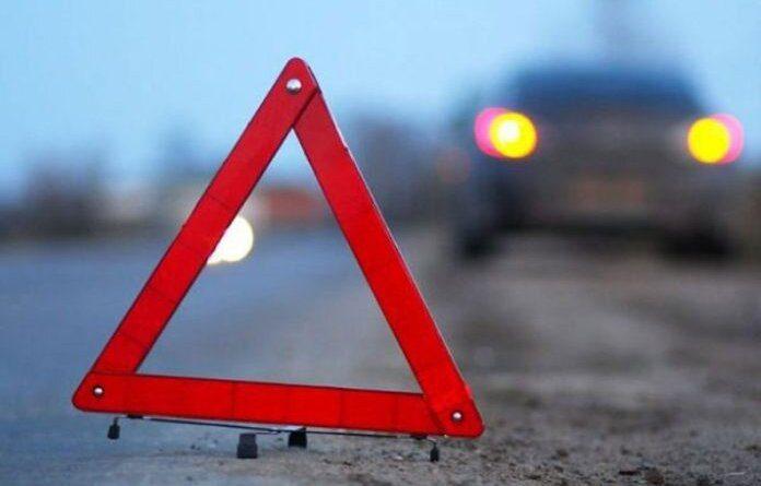 В Усинске вчера «Патриот» не удержался на дороге