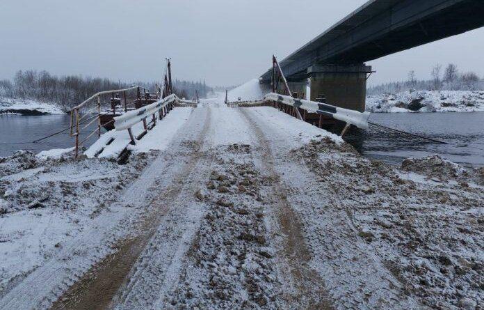 В Усинске вновь открыта дорога через Лыжу