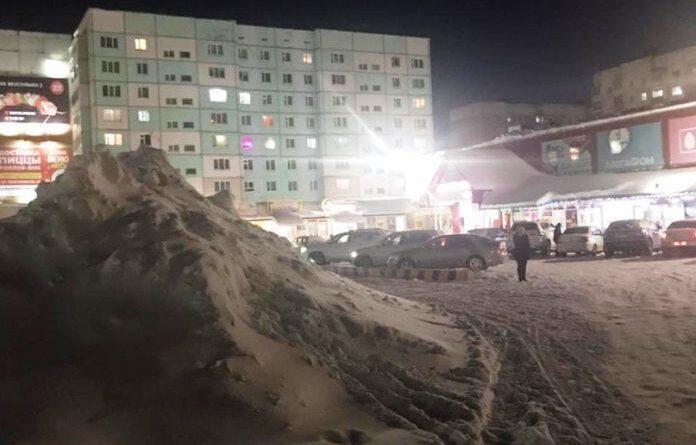 В Усинске выявлены нарушения по складированию снежных масс