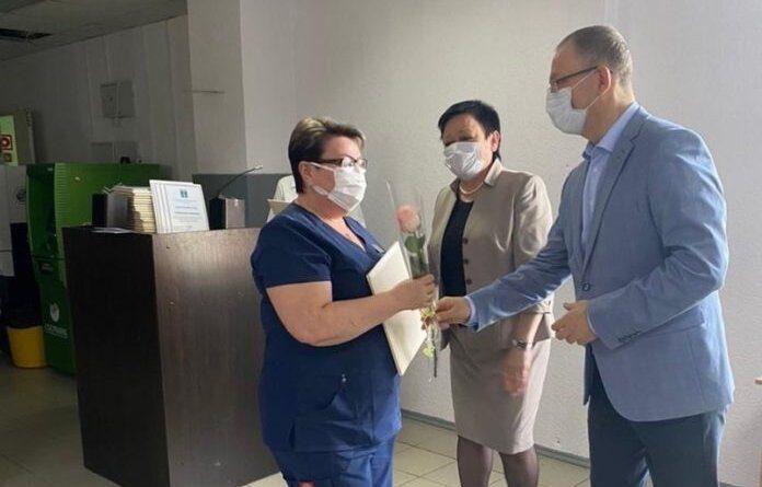 В Усинской ЦРБ провели праздничную планерку для медработников