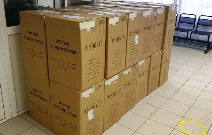 В Усинскую ЦРБ поступили кислородные концентраторы