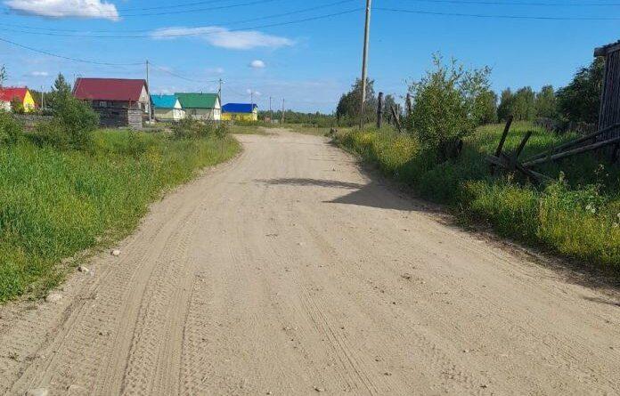 В Усть-Усе благоустроили улицы Березовую и Советскую