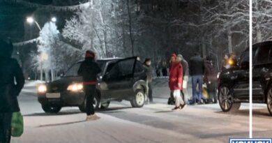 Вчера в Усинске на улице Строителей сбили ребёнка