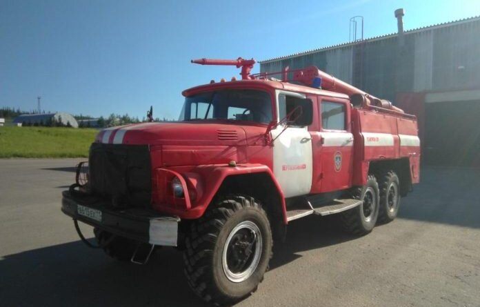 Вчера в Усинске при пожаре пострадал мужчина